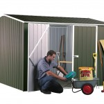 Backyard garden sheds home delivered